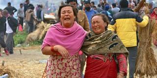 Ο σεισμός στο Νεπάλ