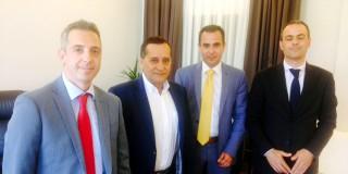 Συνάντηση Αντιδημάρχου Αργοστολίου με αντιπροσωπεία Τράπεζας Πειραιώς