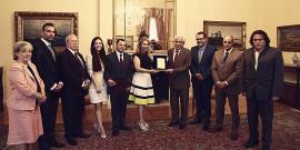 Η Κεφαλληνιακή Αδελφότητα επισκέφθηκε τον Πρόεδρο της Δημοκρατίας