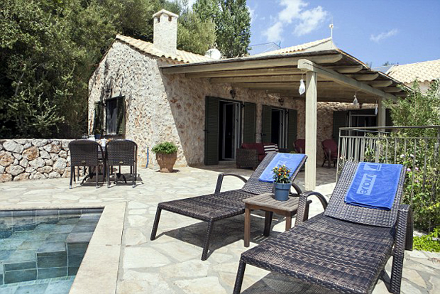 Unique Villas - a top quality holiday rental company - have several houses nestled away in the hills around Kefalonia