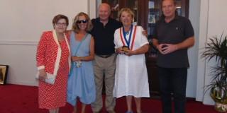 Η Α/Δήμαρχος κ. Anne Menou Castera στην Κεφαλονιά