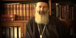 Αρχιμ. Δημήτριο Αργυρό, διευθυντή της Σχολής Βελλά στα Ιωάννινα