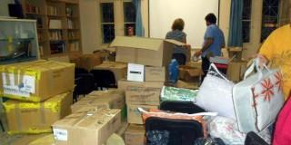 Απολογισμός συλλογής βοήθειας για τους πρόσφυγες
