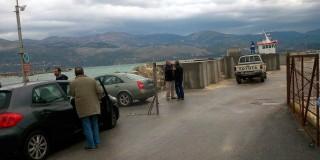 Αυτοψία στα έργα του λιμανιού Ληξουρίου & της οδοποιίας Παλικής