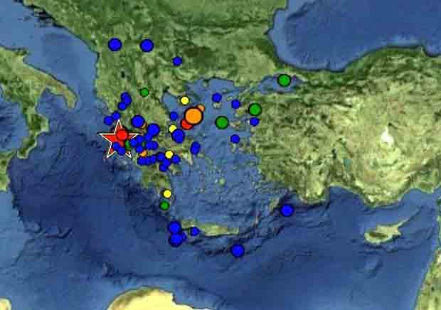 Σεισμός Λευκάδα