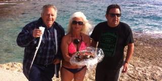"""Έκοψαν πίτα οι χειμερινοί """"εραστές"""" της θάλασσας"""