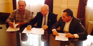 Yπογραφή σύμβασης για το έργο Γέφυρα De Bosset - Λαχαναγορά