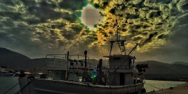 Σάμη Κεφαλονιάς: Κοντόβραδο ... με όστρια