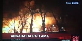 Ισχυρή έκρηξη στην Άγκυρα - Πέντε νεκροί και τουλάχιστον δέκα τραυματίες