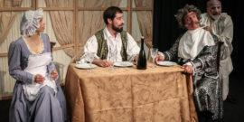 """Τση… λοκαντιέρας, του Κάρλο Γκολντόνι στο θέατρο """"ο Κέφαλος"""""""