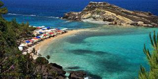 Η διπλή παραλία Τουρκοπόδαρο