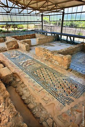 Τα εντυπωσιακά ψηφιδωτά του 2ου-3ου μ.Χ. αι. στη Σκάλα