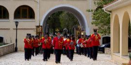 Η Φιλαρμονική Αργοστολίου στη Λιτανεία του Αγίου Γερασίμου