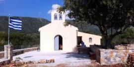 Θεία λειτουργία στο Ναό της Παναγίας Κοκκιλιώτισσας